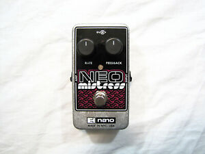 Used Electro-Harmonix EHX Neo Mistress Flanger Guitar Effects Pedal