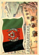 1956 A & BC Flags of the World Mini 46 Afghanistan NM #D376392
