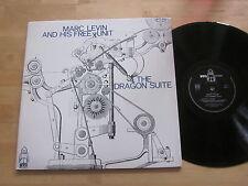 Marc Levin and His Free Unit - Dragon Suite LP BYG France Original Free Jazz