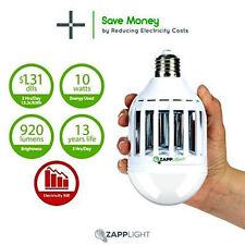 E27  ZAPPLIGHT Light Zapper Dual LED Lightbulb and Bug MOSQUITO 15W