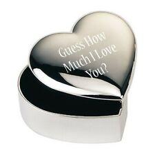 Boîte à Bijoux Boite Cadeau Guess How Much I Love You