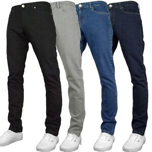 Fremont & Harris Men's Regular Fit Straight Leg Stretch Denim Jeans - 4 Colours