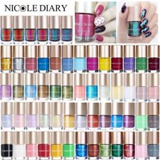 NICOLE DIARY Chameleon Mirror Nail Polish Sequined Glitter  Decoration