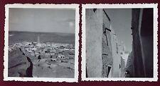 Algérie . Béni Isguen . lot de 2 photos anciennes