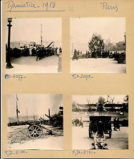 GUERRE WW1 - 6 Photos Armistice 1918 Paris Canons Avions - Pl. 34