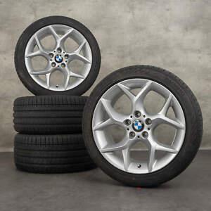 BMW X1 E84 18 Zoll Alufelgen Felgen Sommerreifen 6789145 Y-Speiche Styling 322