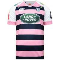 Cardiff Blues Rugby T Shirts Mens Rugby Union Shirt Tops Jersey 2017 2018 Pink
