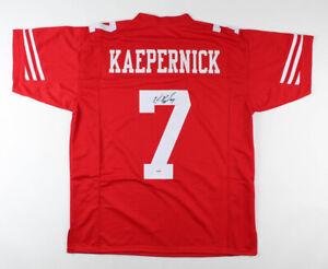 Colin Kaepernick Signed San Francisco 49ers Football Jersey NFL Q.B. (PSA COA)