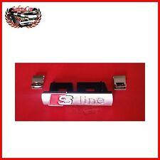Logo S Line Griglia Radiatore - con mollette - Audi A4