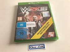 WWE 2K16 - Promo - Microsoft Xbox One - UK - Neuf Sous Blister