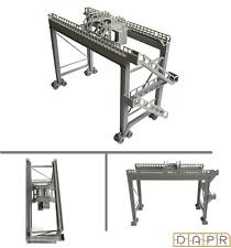 DAPR-N Gauge Model Railway Scenery Kit-Dock Gantry Rail Mounted Container Crane