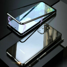 For Samsung Galaxy 360° Full Cover Magnetic Absorption Tempered Glass Metal Case