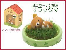 Rilakkuma Mini Garden Petite Planter Shippon Kawaii Ceramic Figure Set  ❤️