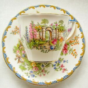 Aynsley Duo (Hairline): Cup Saucer C1934-1960
