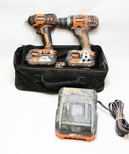 Ridgid Model R96021 18-Volt Cordless Drill/Driver and Impact Driver Combo Kit