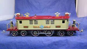 IVES Lionel Transition Prewar O Gauge 1694 Electric Locomotive! CT