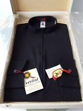 Chemise de prêtre d' ecclésiastique noire taille 8 Picardie  - 12928