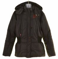 LEVI'S Girls Padded Jacket 13-14 Years Black Polyester  MV63