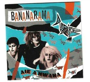 "BANANARAMA very first single ♦  AIE A MWANA (12"" UK + MAXI US REMIX) ▬ LTD CD ♫♫"