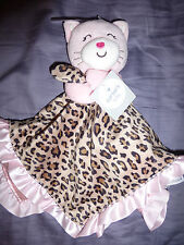 "NWT Carter's ""Kitty"" Security Blanket -  Cat Leopard Animal Print"