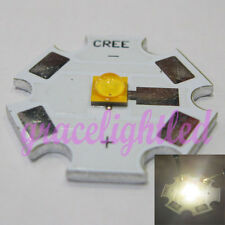 CREE XT-E XTE R3 1W 3W 5W Neutral White LED with 20mm star base 376Lm@1500mA