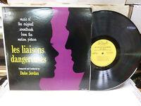 33RPM Jazz Vinyl les liasons dangereuses Soundtrack Parker PLP 813 103012LAE