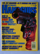 HANDSGUNS FIRE ARMS AMMO WEAPONS RIFLES MAGAZINE 9MM .45 1988 JANUARY 357 MAGNUM