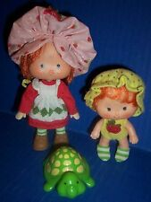 Strawberry Shortcake and Apple Dumplin 1st Edition Doll with Original Clothing