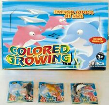 6 GROWING DOLPHIN WATCH IT GROW IN WATER novelty dolphins items new play toy