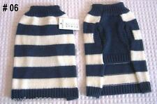Pet Dog Coat Jumper Sweater, AU Stock, Footy Theme, Suit Small to Medium Dog