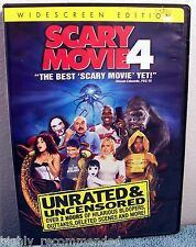 Scary Movie 4 (DVD, 2006, Unrated & Unsensored, Wide)