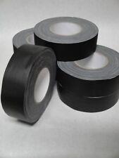 6 ROLLS - GAFFERS STAGE TAPE - BLACK - 2 INCH X 60 YARD