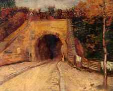 Roadway With Underpass 1887 A4 Print