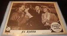 1943 Whistling in Brooklyn Dodgers Baseball El Zorro Movie Lobby Card Poster v1
