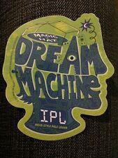 MAGIC HAT BREWING Promo Sticker DREAM MACHINE IPL LOGO craft beer brewery