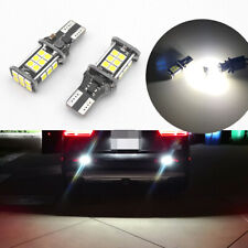 Error Free Xenon White 921 912 T15 LED Bulbs for Euro Car Backup Reverse Lights