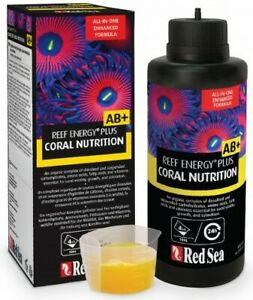 Red Sea Reef Energy Plus AB+ Coral Nutrition 500ml Marine Supplement Fast Delive