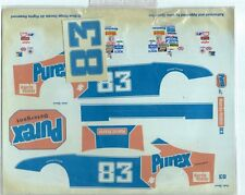 "#83 LAKE SPEED PUREX NASCAR DECALS 7 1/4"" X 9"", MIB, BLUE RIDGE DECAL"
