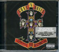 Guns N' Roses Appetite For Desctruction -30°TH ANNIVERSARY  CD Nuovo Sigillato