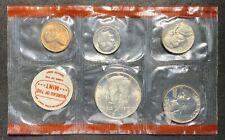 1969 U.S. Mint Set No OGP 10 Coins 2 Tokens (04)