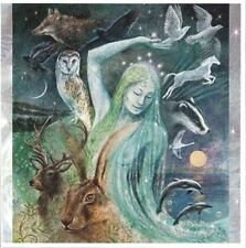 PAGAN WICCAN GREETING CARDS Sacred Creatures WENDY ANDREW Goddess CELTIC
