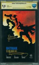 BATMAN THE DARK KNIGHT RETURNS 4 CGC 9.8 WP SIGNED FRANK MILLER KLAUS JANSON 1