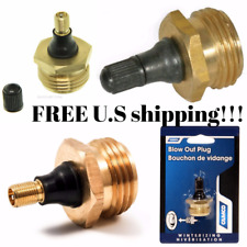 Camco 36153 Brass Blow Out Plug Other Rv Trailer Camper Parts Accessories New