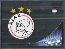PANINI UEFA CHAMPIONS LEAGUE 2012-13- #264-AJAX TEAM BADGE-SILVER FOIL