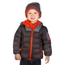 NEW BOYS SNOZU PUFFER FLEECE LINED JACKET/COAT! W/FLEECE LINED KNIT HAT! VARIETY