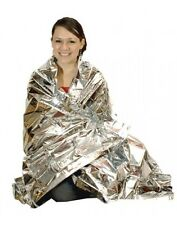 1 X FIRST AID THERMAL EMERGENCY SURVIVAL SHOCK SPACE BLANKET
