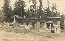1911 RPPC Postcard Benedictine Seminary Printing Office Mount Angel OR Marion Co