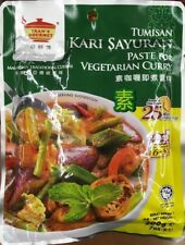 Tean's Gourmet Paste VEGETARIAN Curry 7oz 200g Tumisan Kari Sayuran Malaysian