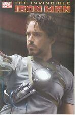 Marvel Comics Invincible Iron Man #1, Movie Variant cover, Very Fine!