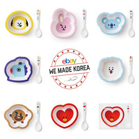 BT21 Character Cereal Bowel 520ml + Spoon Set 7types Authentic K-POP Goods